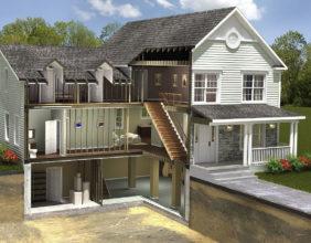 Насколько выгодно строительство домов с цокольным этажом?
